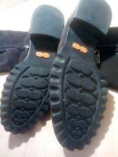 Baldinini Damen Winterstiefel Stiefel Boots Absatz LEDER Fell Gr 37,5
