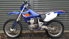 Yamaha wr400 wrecking/parting out.