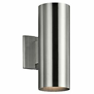 """Kichler 9244BA Signature 2 Light 5"""" Wide Outdoor Wall Sconce"""