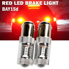 1157 BAY15D 380×2 LED Red SAMSUNG SMD Bulbs Reverse Tail Stop Brake Light