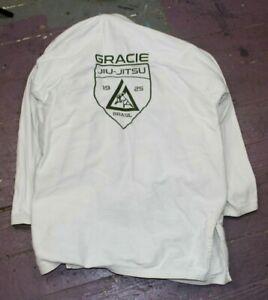 Gracie Brand Brasil Jiu Jitsu Kimono Gi Size A2 Top MMA BJJ Pre Owned