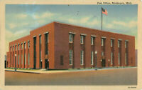 Postcard Post Office, Muskegon, MI