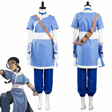 Avatar: the last Airbender Katara Cosplay Costume Halloween Carnival Outfit