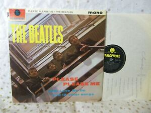 THE BEATLES LP PLEASE PLEASE ME MADE ENGLAND RECORDING FIRST PUBLISHED 1963