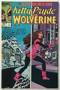 Kitty Pryde and Wolverine #1 - 1st Appearance of Ogun - VF- 7.5 - Marvel Comics