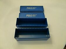 1  PCGS BLUE HARD PLASTIC COIN HOLDER BOXES FOR SLABBED COINS