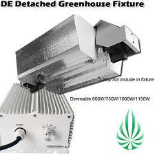 DE Detached Greenhouse Fixture 1000w Double Ended 1000 watt Hood  Grow Light