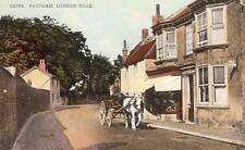 London Road Post Office Patcham Nr Brighton old pc