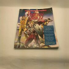 Phantasy Star IV 4 Official Players Guide SEGA USED