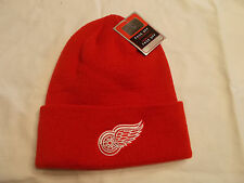 Detroit Red Wings NHL Winter Toque Beanie Skull Cap Knit Hat