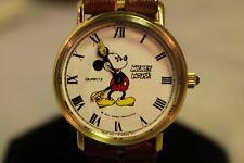 New Vintage late Bradley Mickey Mouse Swiss  An Germany wind up Watch Disney