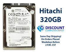 "320GB 2.5"" HDD Notebook / Laptop Hard Drive Internal SATA Hitachi Brand"