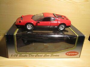 Kyosho Ferrari 512 BB Neu und OVP Rot 1/18 No. 08171R