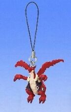 Legendz Tale of the Dragon Kings Gashapon Mini Figure Strap Greedo Blazedragon A
