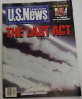 U.S. News Magazine The Last Act Saddam Hussein March 1991 012215R