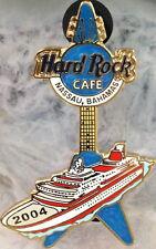 "Hard Rock Cafe NASSAU 2004 Cruise Ship ""V"" GUITAR PIN LE750 - HRC Catalog #26717"
