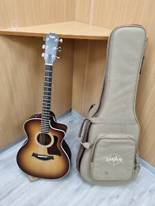Taylor 214ce-k Sunburst Grand Auditorium Electric Acoustic Guitar