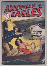 American Eagles 1949 Air War Pulp Louis L'Amour Robert Johnston McCulley Lamour