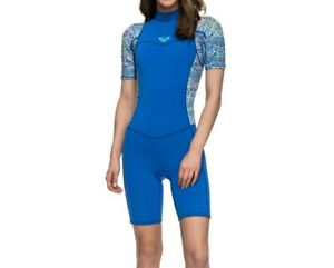 ROXY Women's 2/2 SYNCRO BZ S/S Spring Suit - BYH0 - Size 8 - NWT  LAST ONE LEFT