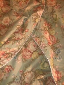 "Ralph Lauren Charlotte Floral Full/Queen 85""x90"" Comforter Duvet Cover"