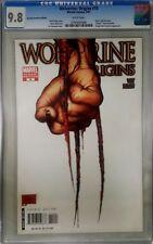 Wolverine Origins 10 CGC 9.8 3rd Third Claw 1:100 Variant 1st App Daken RRP
