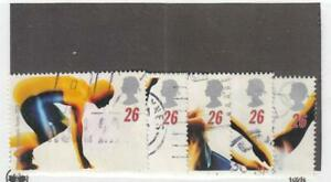 GREAT BRITAIN (MK7194,A) # 1688-1697 VF-USED 1996 OLYMPICS /WOMEN OF ACHIEVEMENT