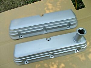 FORD MUSTANG 86 87 88 89 90 91 92 93 302 HO ALUMINUM VALVE COVERS