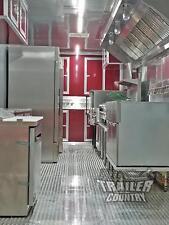 New 2019 8.5X30 V Nose Enclosed Cargo Food Vending Trailer Mobile Kitchen