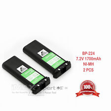 2 x 1700mAh 7.2V Ni-Mh Batteries for Bp 224 Icom Ic-M2A M21 M31 M33 Gm1600