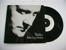 """PHIL COLLINS - ANOTHER DAY IN PARADISE - 7"""" VINYL UK PRESS 1989 EXCELLENT"""