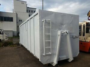 Abrollcontainer, Lagercontainer