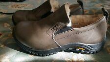 UGG Australia Uggs Womens 7 Leather Sheepskin Clogs Shoes Vibram sole