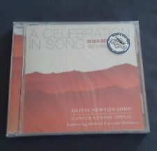OLIVIA NEWTON-JOHN CD - A CELEBRATION IN SONG - CANCER CENTRE APPEAL