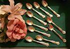 1847 Rogers Bros VINTAGE Grape ~ Demitasse Spoons 4 1/4'
