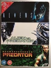 ALIENS ALIEN VS PREDATOR / predator ~ Horror Sci-Fi Triple Bill UK DVD