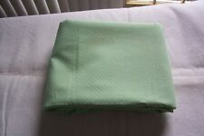 Vintage Light Green Dotted Swiss Sewing Fabric 2.5 yards