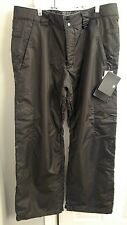 NWT Men's DC Banshee 10 Snow pants Snowpants Large L Black Exotex 5K Series