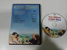 THE BOYS ARE BIEN DVD ANNETTE BENING JULIANNE MOORE SPANISH ENGLISH REGION 2