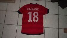 ancien maillot non porté  PSG paris saint germain ZLATAN IBRAHIMOVIC ROUGE