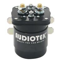 Audiotek 500A 12V Continuous 500 Amp Mobile Audio Relay and Battery Isolator