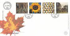 (92549) GIOCO GB FDC Albero & Foglia Yew Tree Birmingham CDs 01 AGOSTO 2000