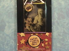 WALT AND MICKEY LIGHTS CAMERA PIN,EVENT PIN ON PIN  WDW PIN NEW