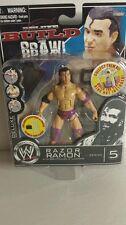 WWE BUILD BRAWL RAZOR RAMON ACTION FIGURES SERIES 5(058)