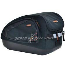 IBERA PakRak Multi-compartments Bike MultiMount Commuter Bag , Black