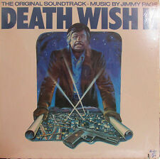 Death Wish II  (Soundtrack) (Swan Song 8511) Jimmy Page (Charles Bronson) sealed
