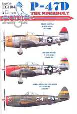 EagleCals Decals 1/48 REPUBLIC P-47D THUNDERBOLT Fighter