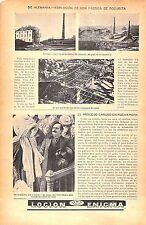 """Enrico Caruso """"Lawsuit for Dissorderly Conduct"""" Original Vintage Mag. Paper Ad 1"""