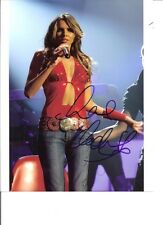 Guaranteed 8x10 Autographed by sexy Irish singer Nadine Coyle