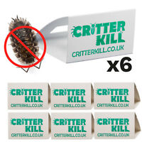 6 X WOODLICE KILLER TRAP CRAWLING INSECT GLUE TRAPS PEST CONTROL WOODLOUSE