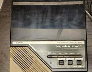 Vintage Sanyo Beeperless Remote Telephone Answering System TAS 332 FREE SHIPPING